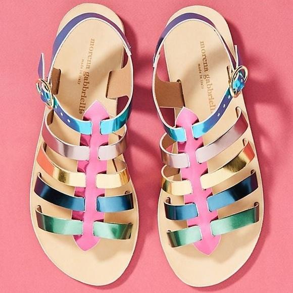 c8d539b977ae Anthropologie Shoes - Anthropologie Morena Gabbrielli Gladiator Sandals